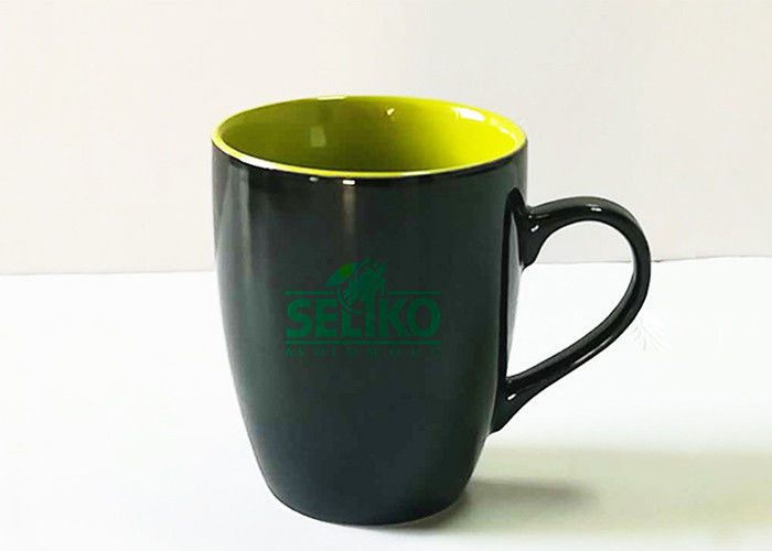 Full Color Promotional Ceramic Mugs Printed Logo For Hotel / Restaurant
